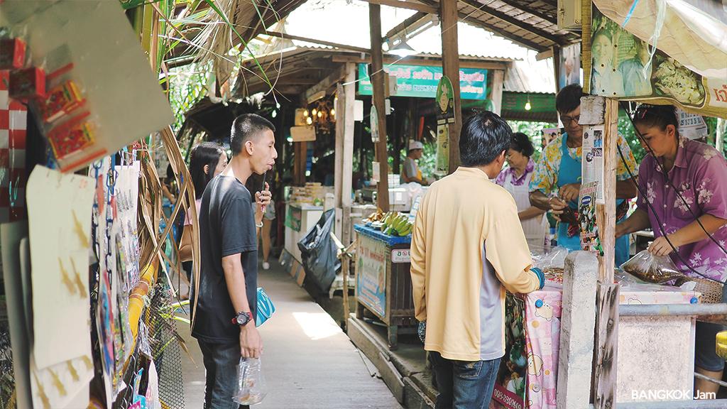 バンナムプン水上マーケット 行き方 2018年 Bang Nam Phueng Floating Market