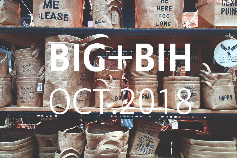 2018年10月 STYLE バンコク国際ギフトフェア BIG+BIH 2018 OCT バイテック BITEC