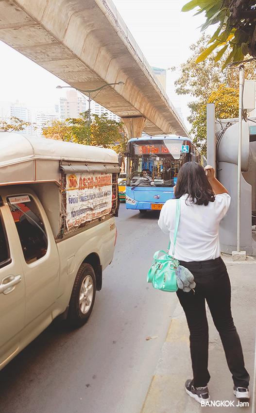 2019年 タイ バンコク バス 新型車両 NGV