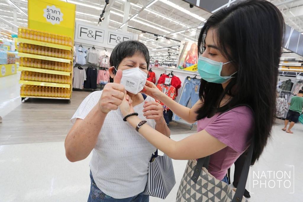 タイ バンコク PM2.5 大気汚染 リアルタイム N95 マスク