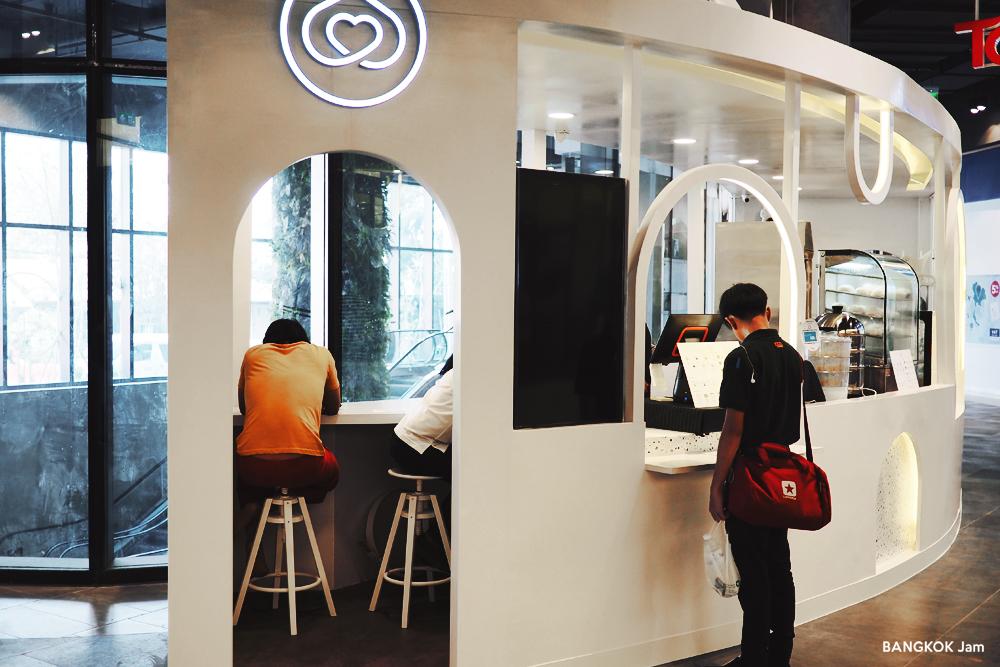 スクンビット 101 The Third Place バンコク オープン レストラン True Digital Park