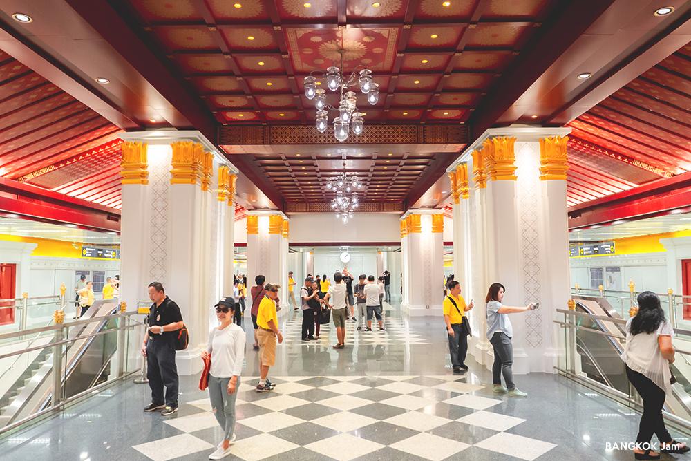 MRTブルーライン 延伸区間 試験運転 無料 サナームチャイ駅