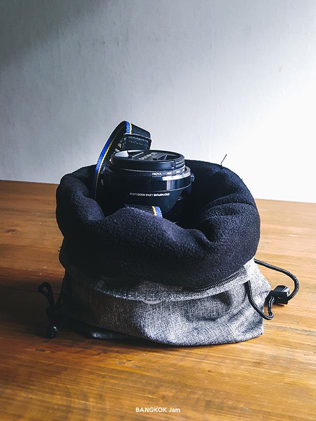 ミラーレスカメラ バッグ ポーチ クッション