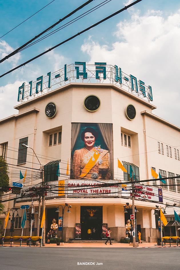 ワット・ラーチャボピット 2019年 MRTサムヤーン駅 旧市街 寺院 バンコク