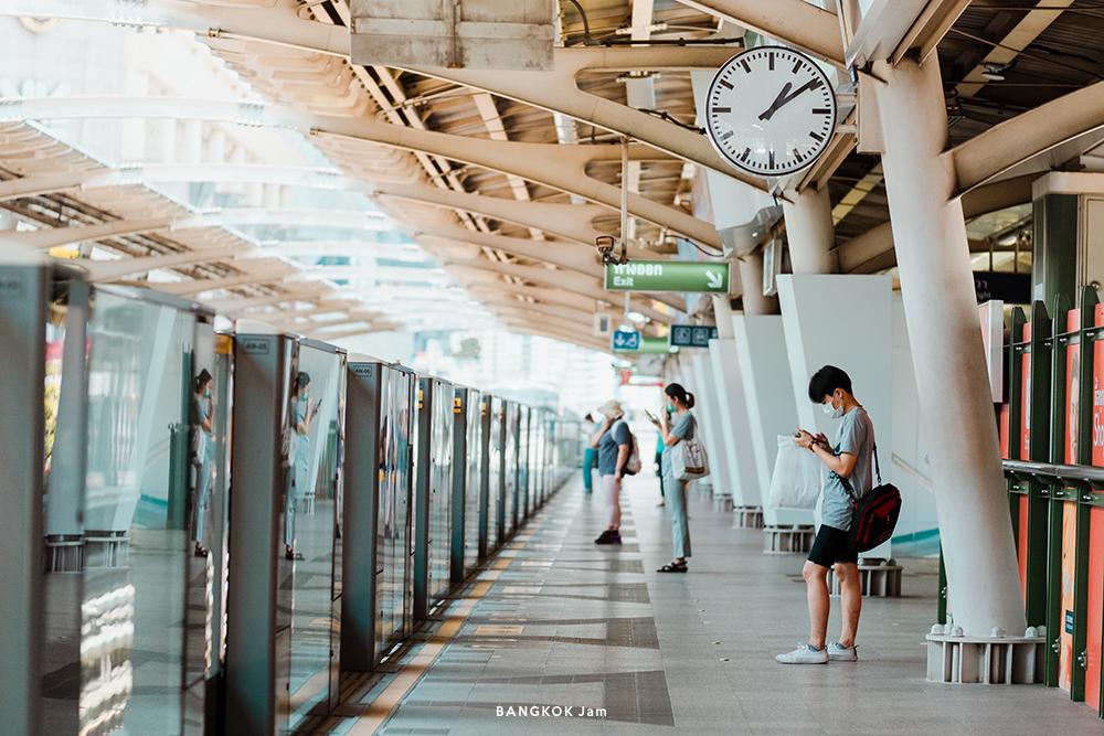 2020年 タイ 新型コロナ ショッピングセンター ニューノーマル バンコク サイアム