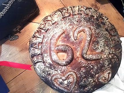 Pane del Presento di compleanno