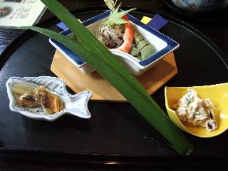 緑風の膳(前菜)
