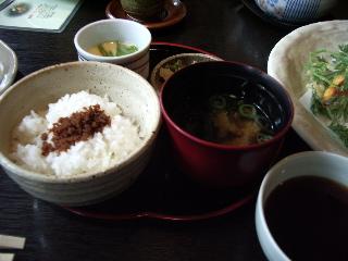 緑風の膳(お食事)