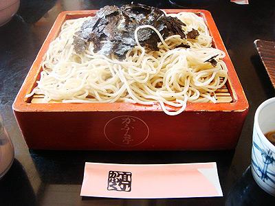 美味しいお蕎麦やさん「かふく亭」 弘前工業高校近く