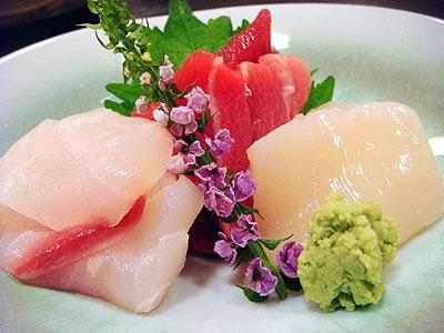 新鮮お造り〜弘前市「和料理なかさん」〜
