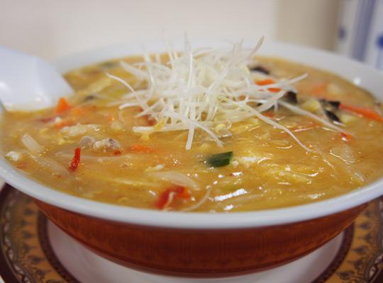 茶飯次の酢辣湯麺(スーラータンメン)