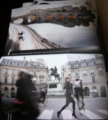 フランス版マダムフィガロのパリ特集(写真)