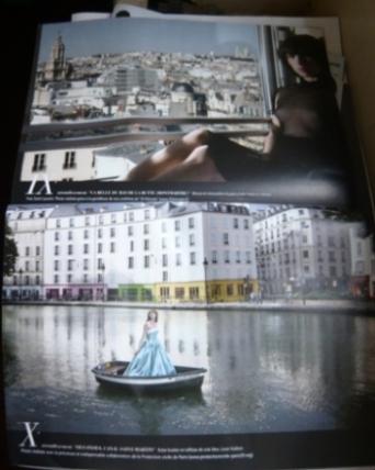 フランス版マダムフィガロのパリ特集2(写真)