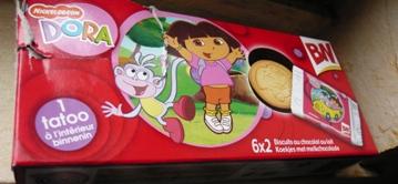 フランスのキャラクター(ドラ)のクッキー
