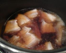 豚の角煮 作り中写真