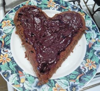 チョコレート・ケーキのデコレーション画像