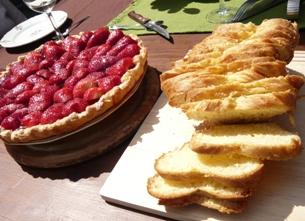 ピクニックのデザート1