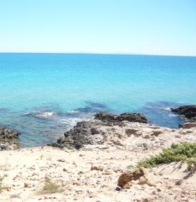 チュニジアのビーチの写真1