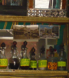 チュニスのメディナの香水店2