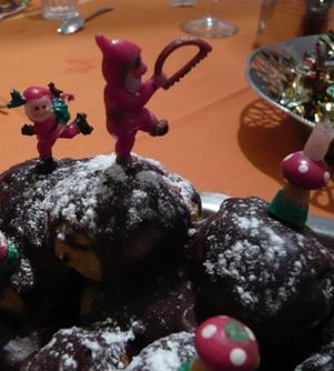 フランスのクリスマス・ケーキ