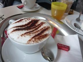 ベルンのオシャレなカフェ