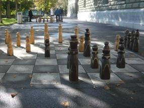 路上チェス写真