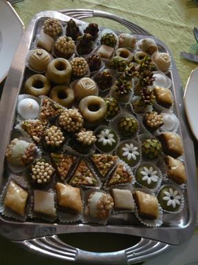 チュニジアのお菓子1