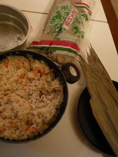 中華粽(材料写真)