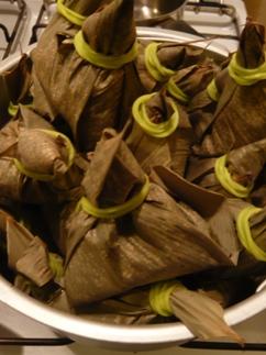 中華粽の作り方