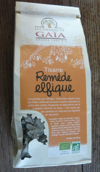 Remede Elfique(フランスのハーブティー、エルフのハーブティー)