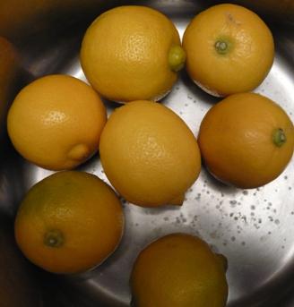 オーガニックのベルガモット(レモンの一種)