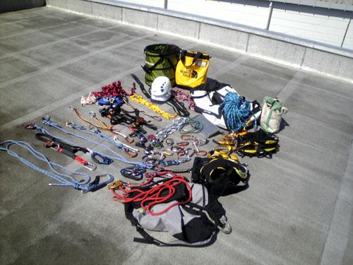 ロープアクセス用ロープ類