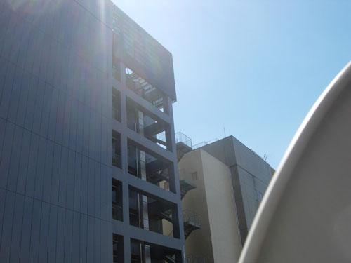 墨田区 Mビル BS/CSアンテナ設置