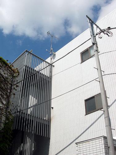 川崎市 Cハウス BS/CSアンテナ工事