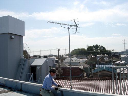 川崎市 Cハウス 既設アンテナ設備