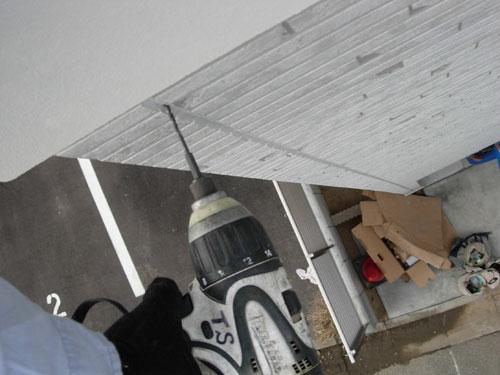 足立区 K様邸 木材用ネジ打ち込み1