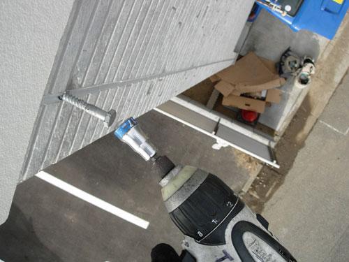 足立区 K様邸 木材用ネジ打ち込み2