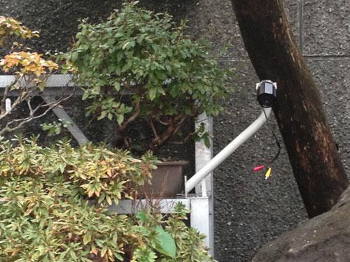 文京区)N様宅 1カメラ設置の様子