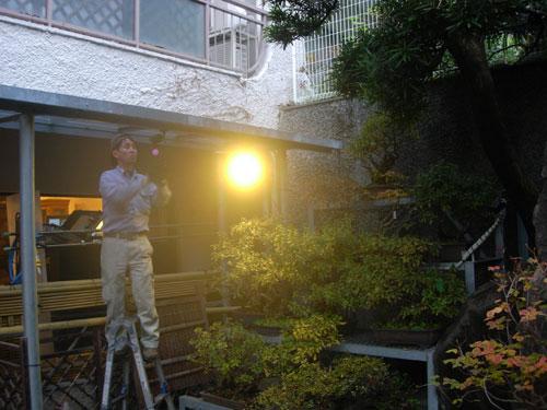 文京区)N様宅 3カメ設置の様子2