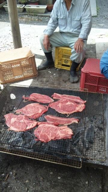 肉でかし。。。