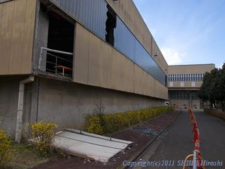 筑波大学建物地震被害