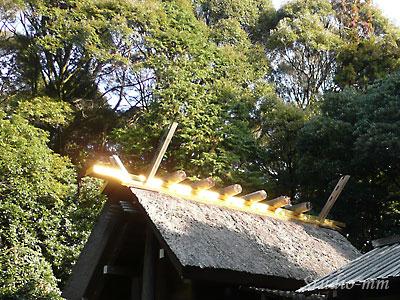 伊雑宮の屋根