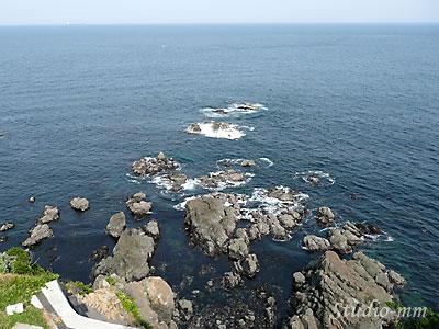 安乗崎灯台から見る海