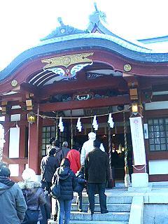 ふくちゃん:近所の神社
