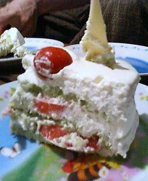 ふくちゃん:トマトのケーキ2