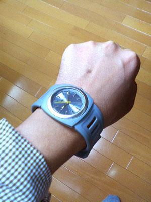 ふくちゃん:HIROからもらった腕時計