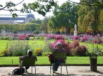 パリ チュイルリー公園