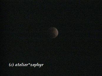 皆既月食中写真カラー編集済みバージョン