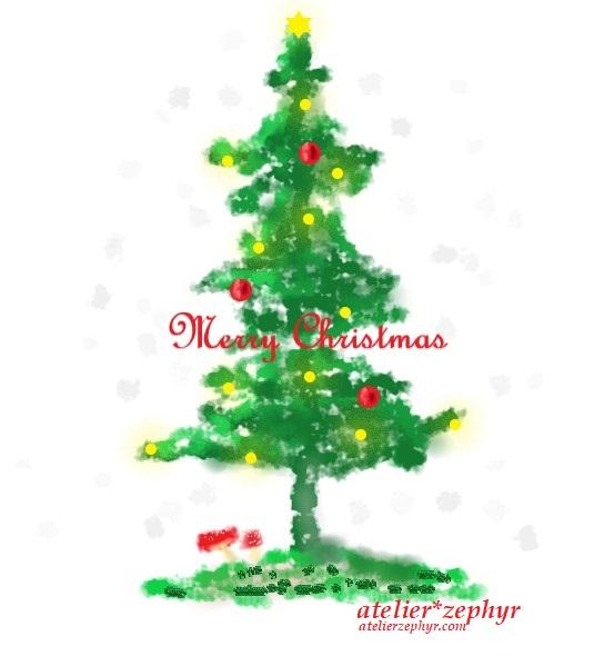 Merry Christmas 2018 atelier*zephyr