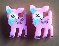 ピンク子鹿